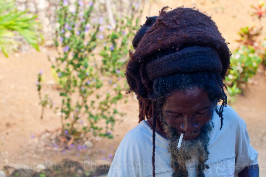 Rastaman in Jamaica